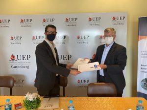 Convenio Interinstitucional entre la UEP Campus Gutenberg y la Empresa Partnergroup S.A.